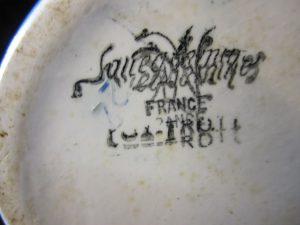 signature de Sarreguemines, fox Trott
